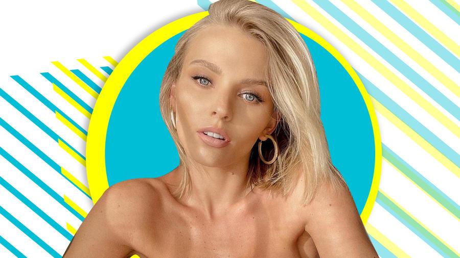 Irina Baeva se luce en bikini mientras el mar le acaricia todo su ser