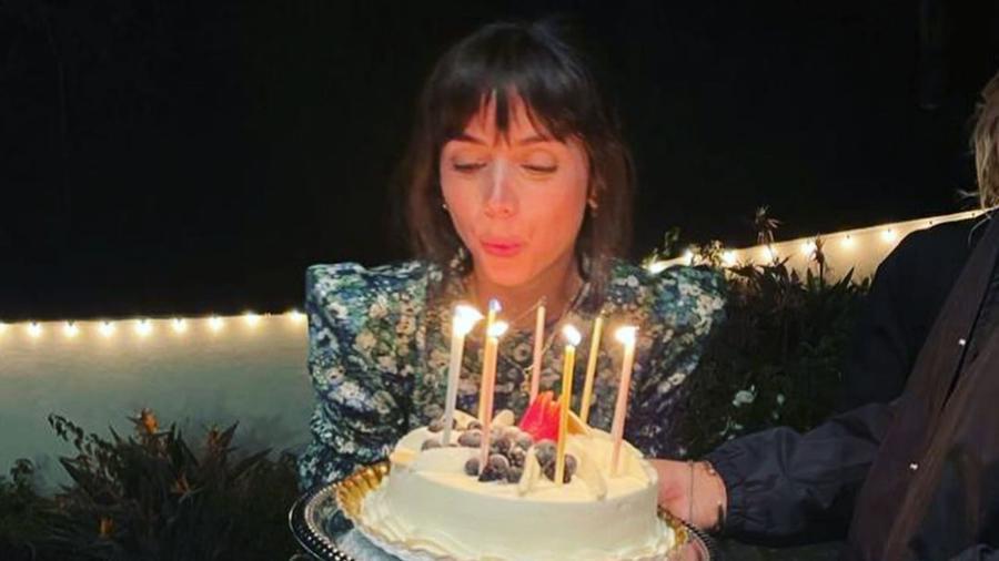 Ana de Armas en su fiesta de cumpleaños
