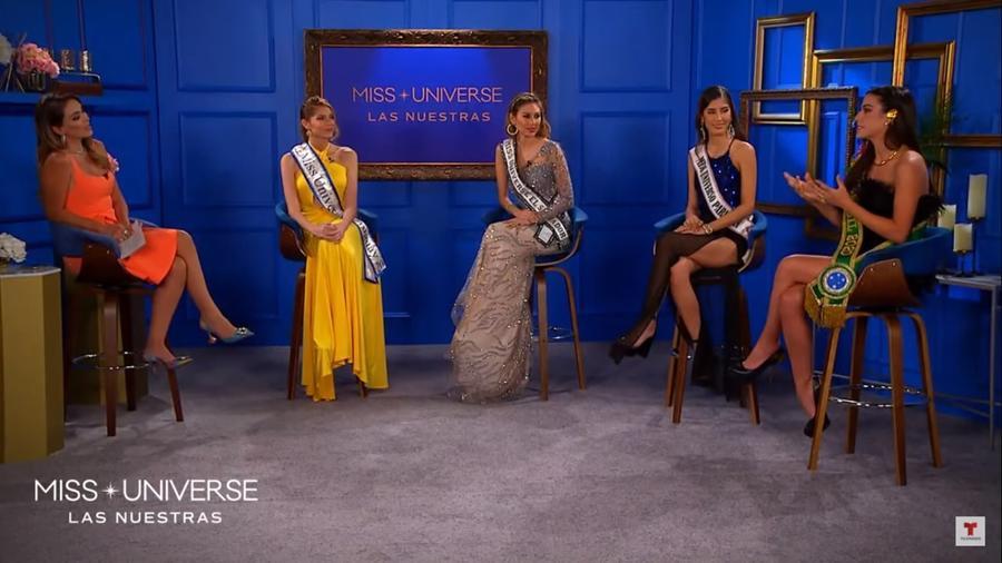 Miss Brasil, Miss Paraguay, Miss El Salvador y Miss Uruguay, Candidatas a Miss Universo 2021, 69 Edición en Miss Universo: Las Nuestras