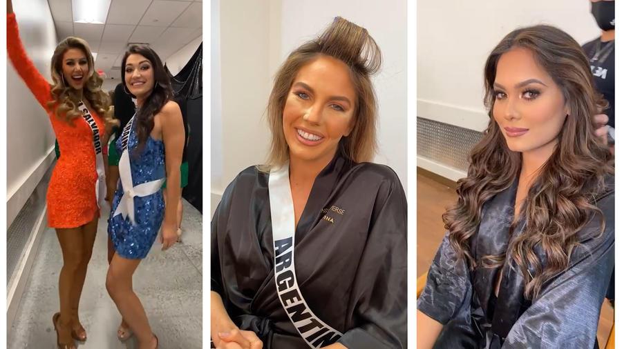 Las mejores fotos y videos del backstage de Miss Universo 69na edición
