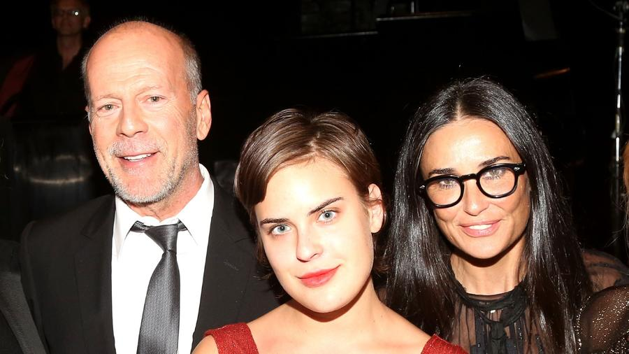 Bruce Willis, Tallulah Willis y Demi Moore