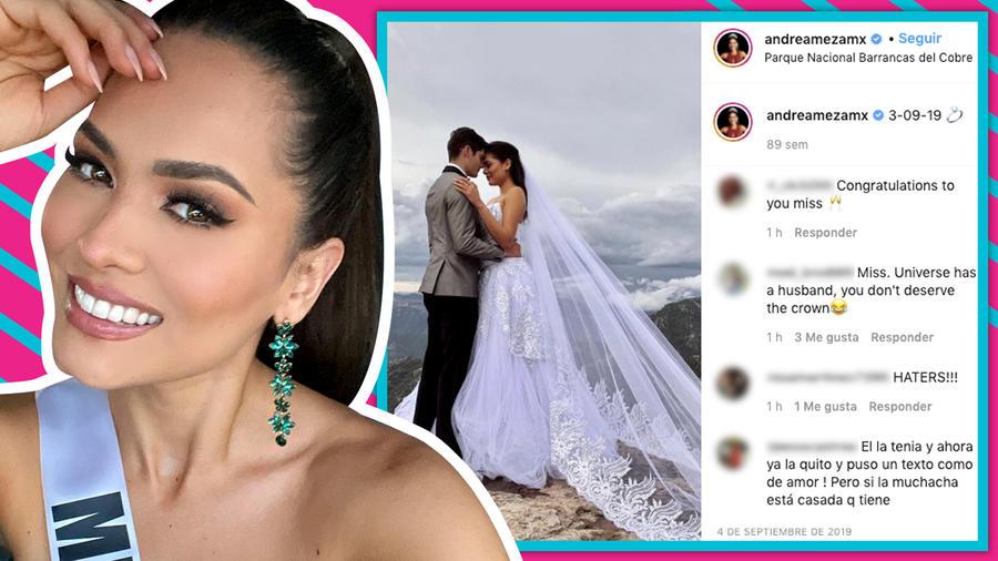 Andrea Meza: Toda la verdad detrás de la polémica foto vestida de novia