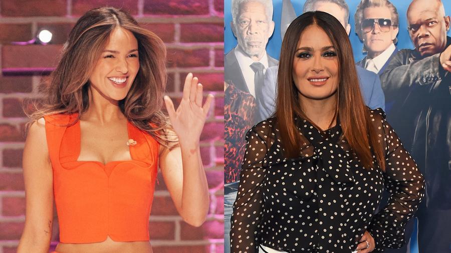 Eiza González y Salma Hayek
