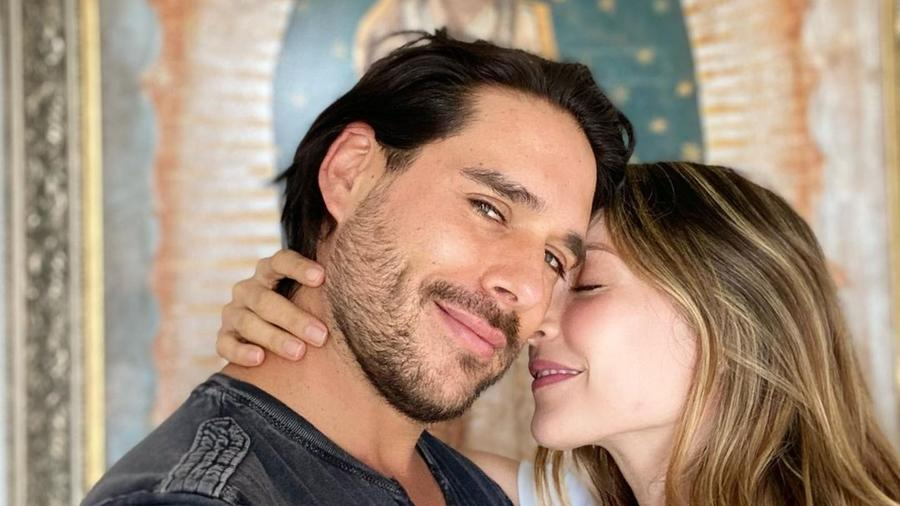 Carmen Villalobos y Sebastián Caicedo