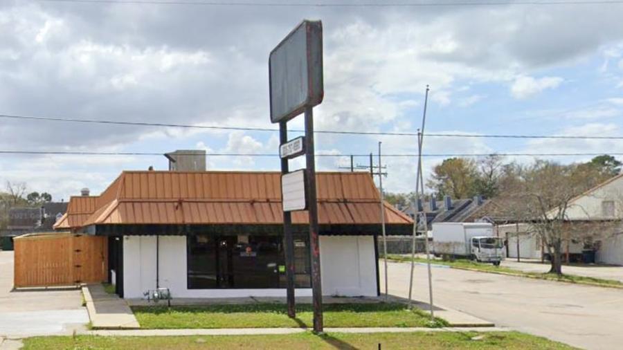 Lugar del tiroteo en Baton Rouge