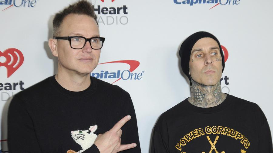 Travis Barker y Mark Koppus de Blink 182.
