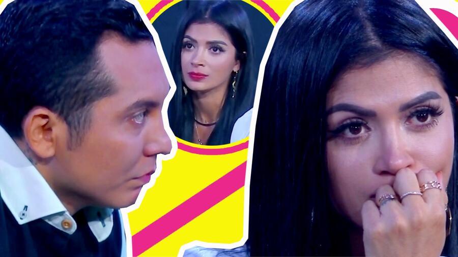 Kimberly Flores se doblega ante Edwin Luna y confiesa que teme las consecuencias