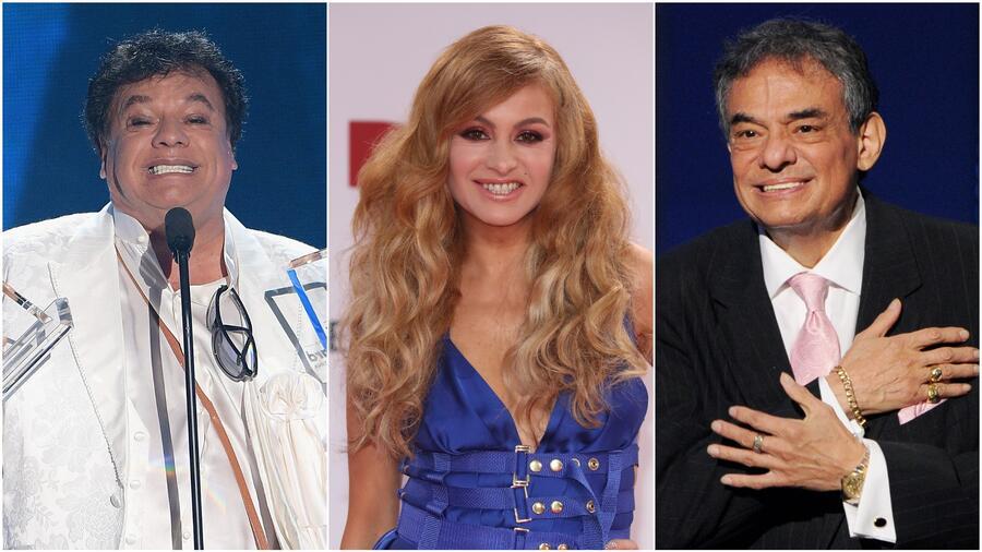 Juan Gabriel, Paulina Rubio y José José Premios Billboard de la Música Latina