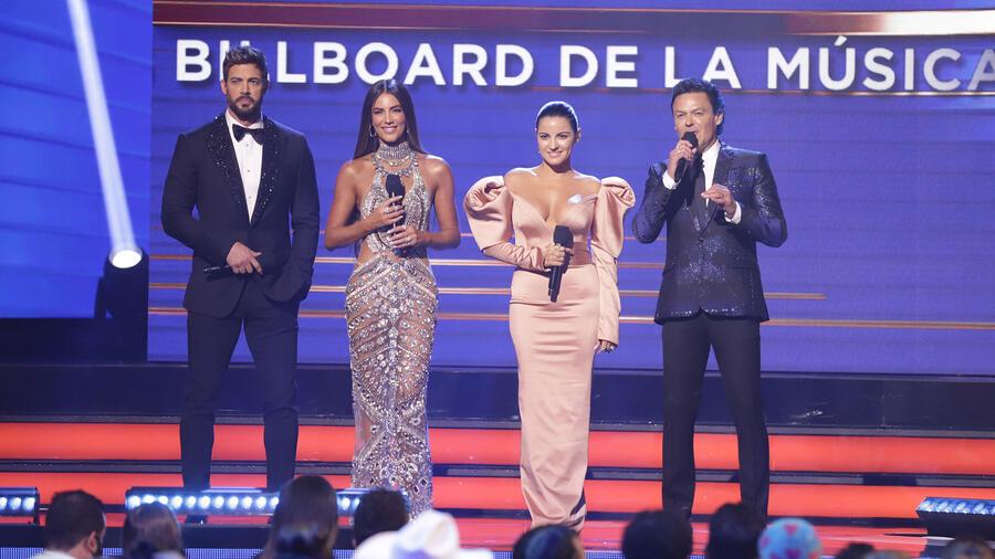 Presentadores Premios Billboard 2021