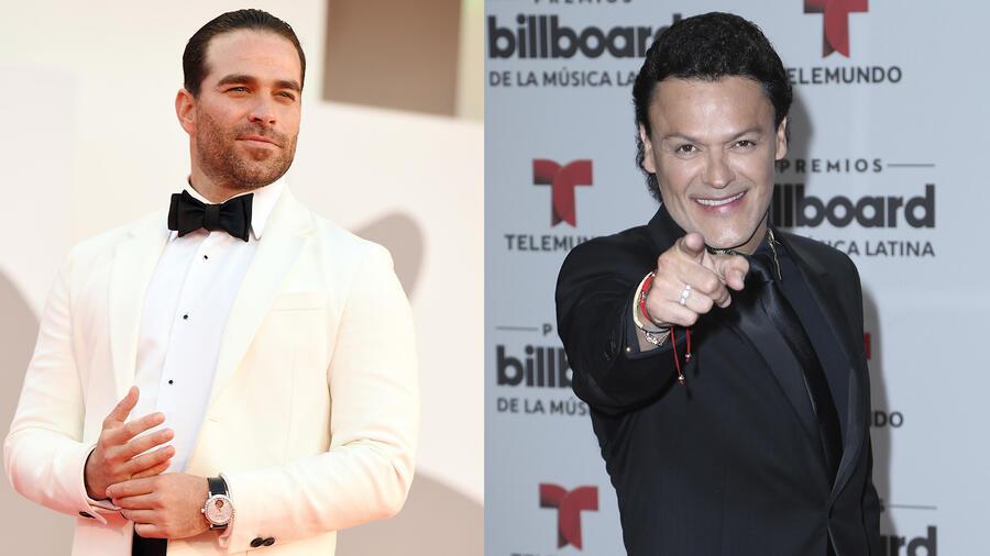 Alejandro Nones y Pedro Fernández, elenco de 'Malverde: El Santo Patrón'.