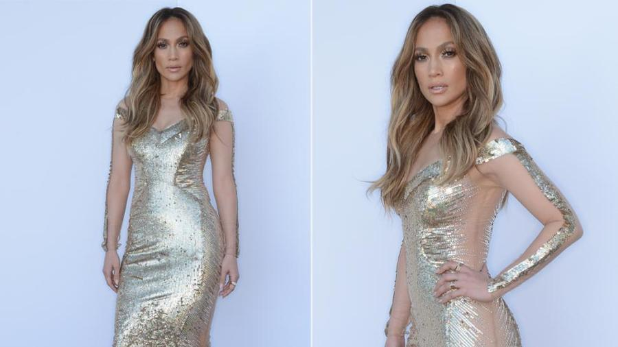 Jennifer Lopez American Idol look