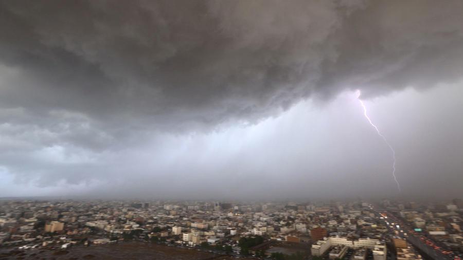 tormenta rayos