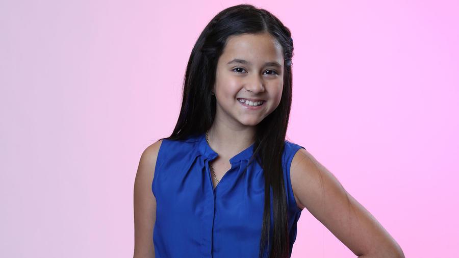 Keyli Aponte del Team Yankee en La Voz Kids