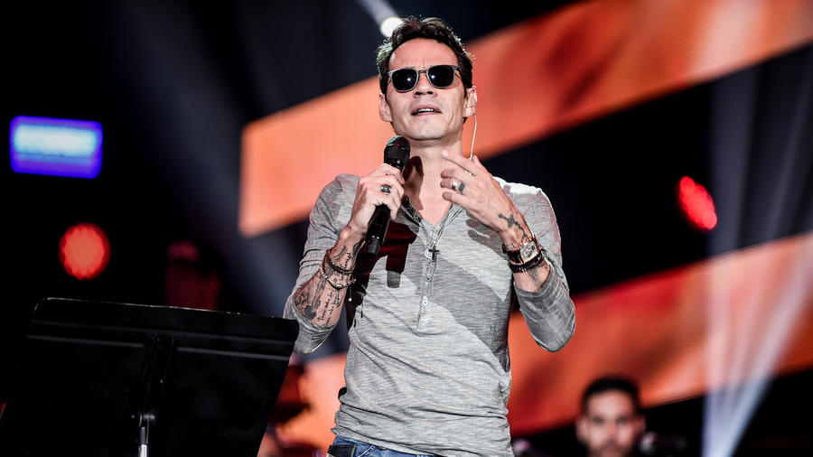 Marc Anthony ensayos Premios Billboard 2016