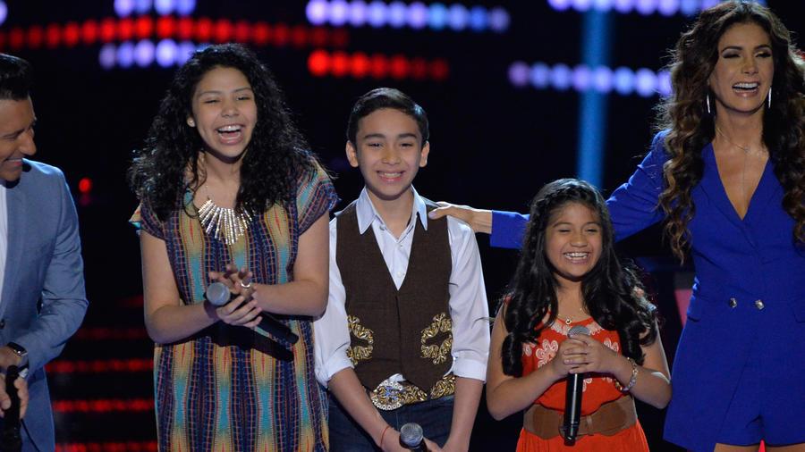 Jorge Bernal Patricia Manterola Adamari Francisco Sharon ronda de batallas La Voz Kids 2016