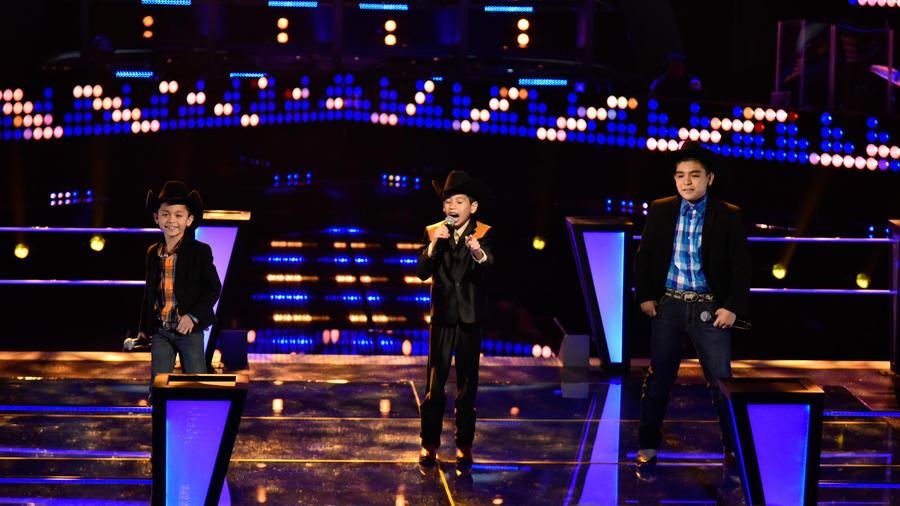 Joel Gabriel y Gumaro en la tercera ronda de batallas de La Voz Kids