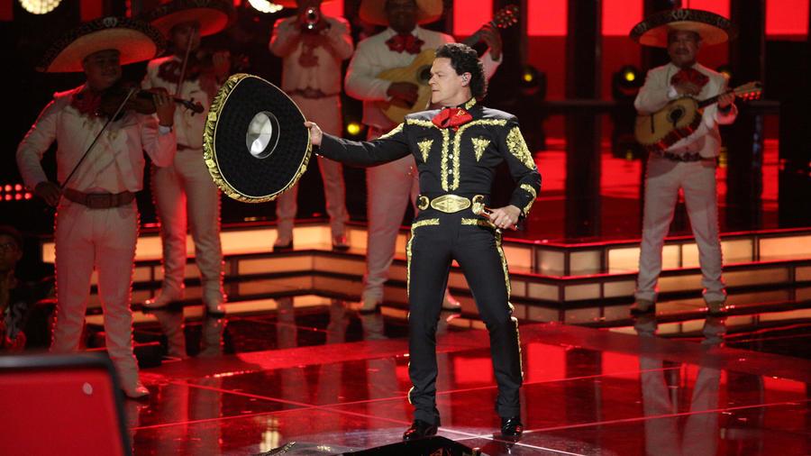 Pedro Fernández en la segunda gala de La Voz Kids