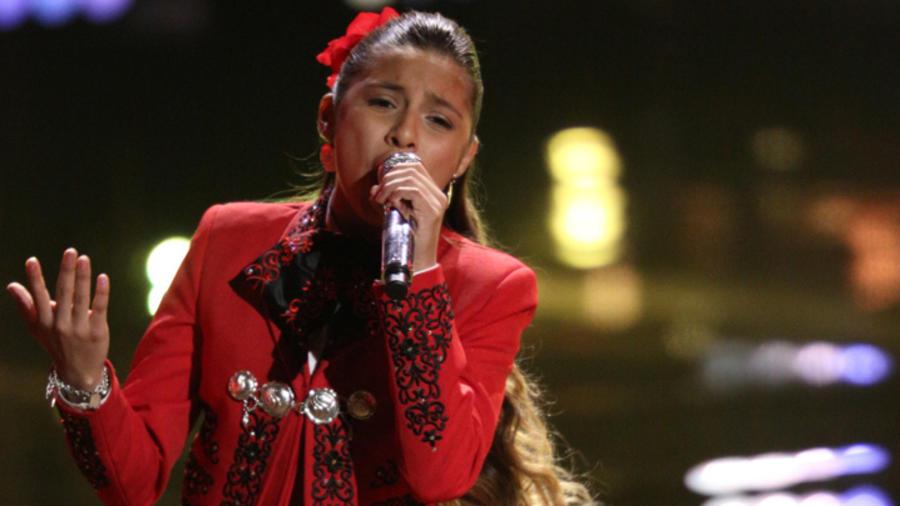 Magallie en la semifinal de La Voz Kids