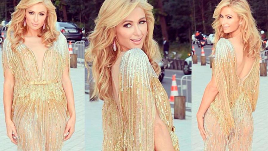 """Paris Hilton en """"Art of Giving"""" Love Ball en París"""