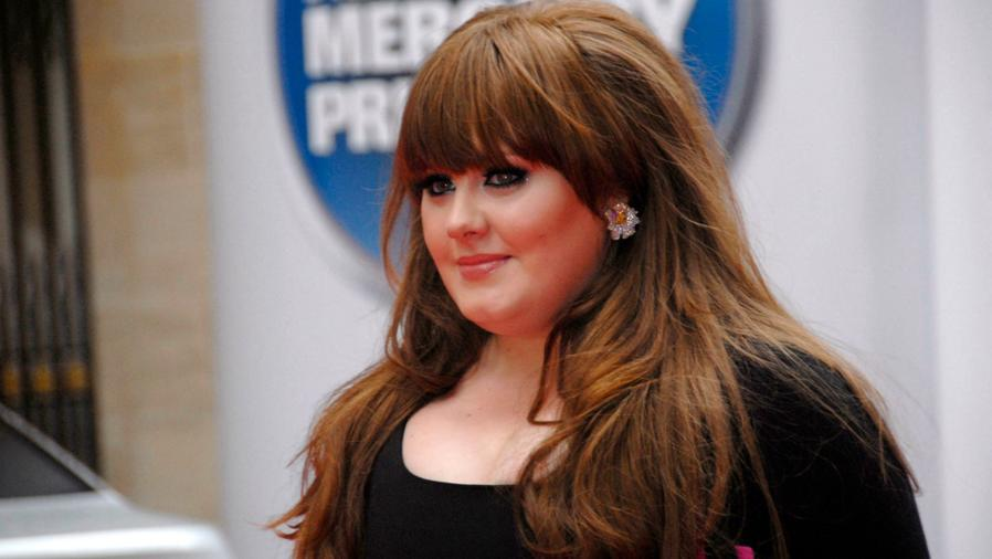 Adele en los Mercury Music Awards de 2008