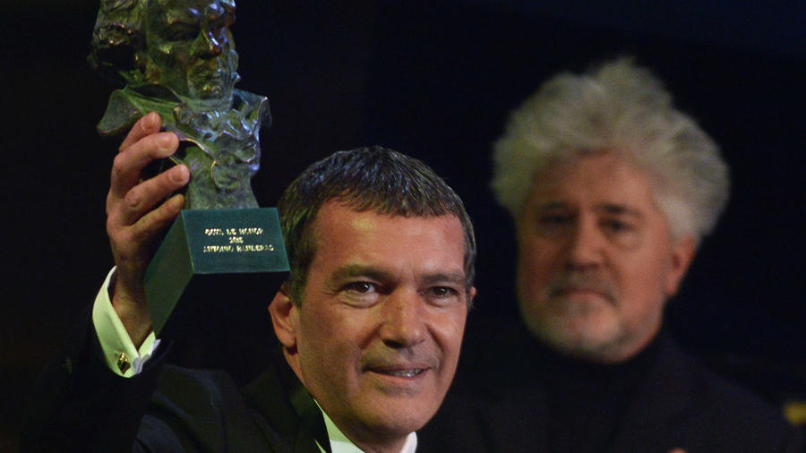 Antonio Banderas recibe el premio Goya de Honor en Madrid, 2015