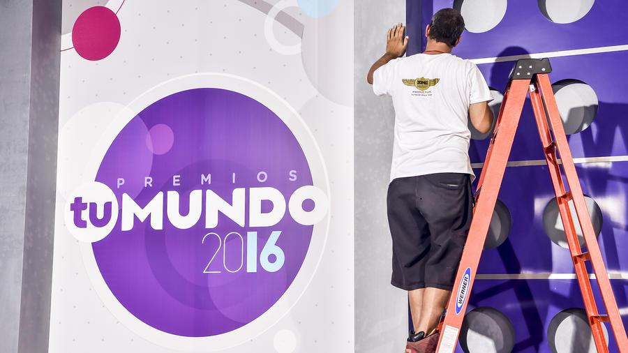 Detrás de cámara - Premios Tu Mundo 2016