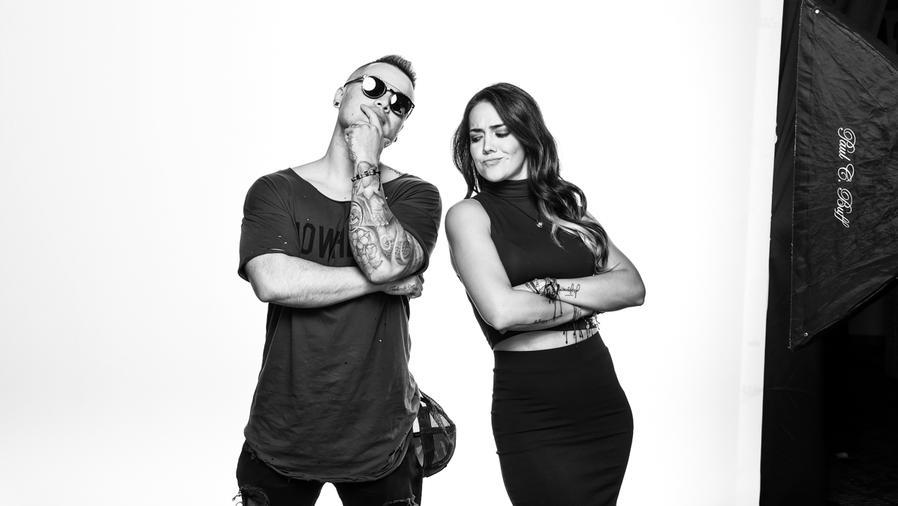 Alex Ospina y Kelly Peñaranda