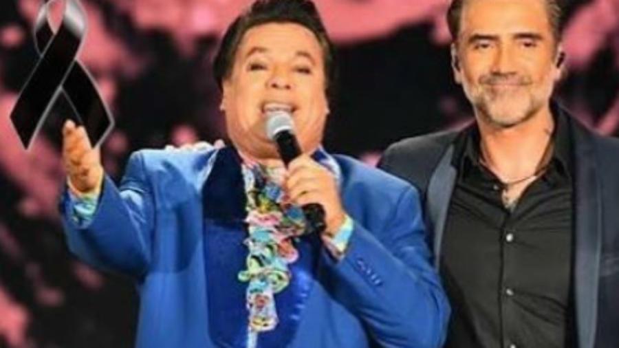 Alejandro Fernández junto a Juan Gabriel