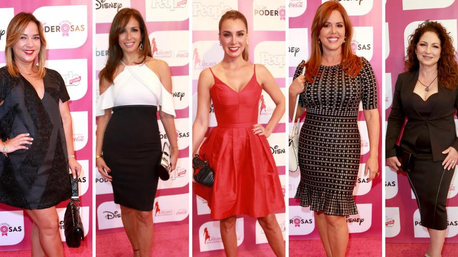 Adamari López,Giselle Blondet, Elizabeth Gutiérrez, María Celeste Arrarás, Gloria Estefan