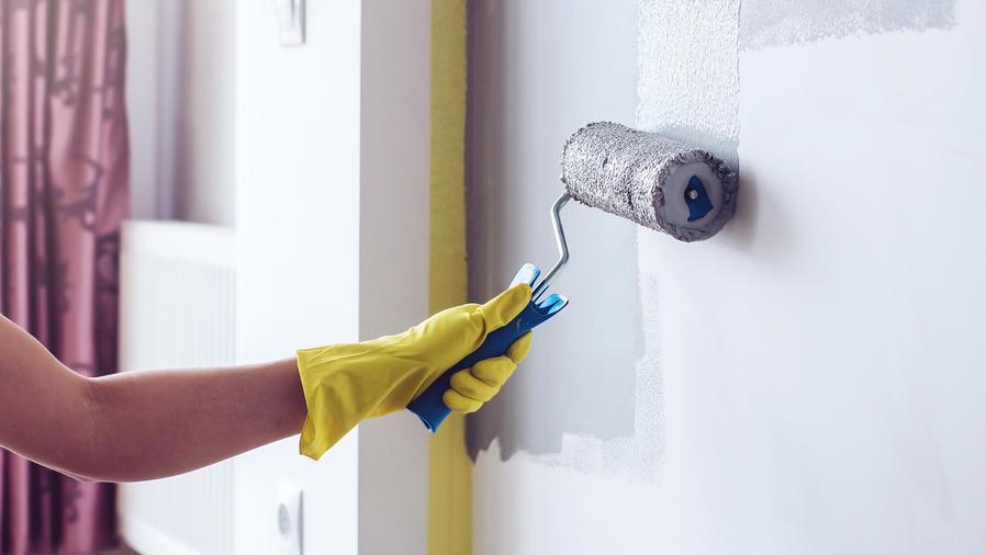 Pintando las paredes