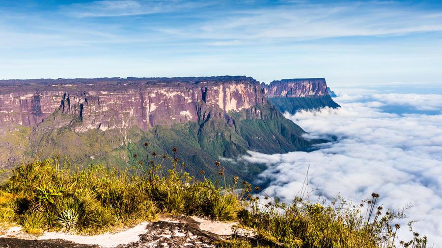 Panorámica del Monte Roraima, Brasil