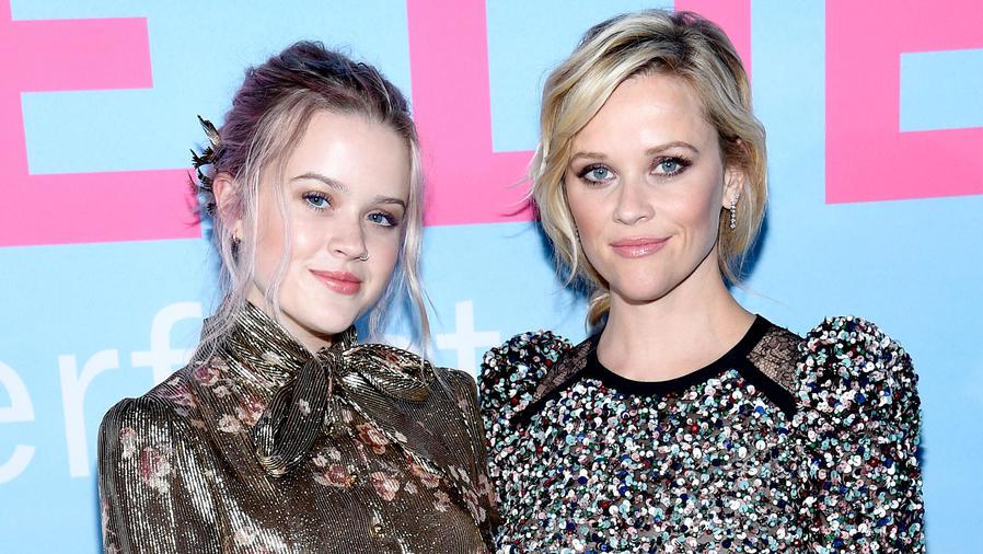 "Reese Witherspoon y Ava Phillippe en la premiere de ""Big Little Lies"" Hollywood, California."