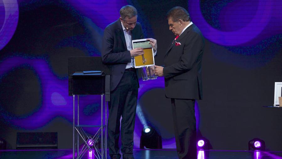 """Simon Pierro """"El Mago del iPad"""" en Don Francisco Te Invita"""