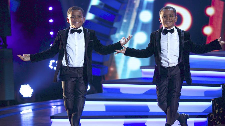 Teddie and Freddie, gemelos bailarines de tap