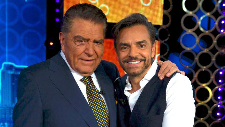 Don Francisco y Eugenio Derbez en Don Francisco Te Invita