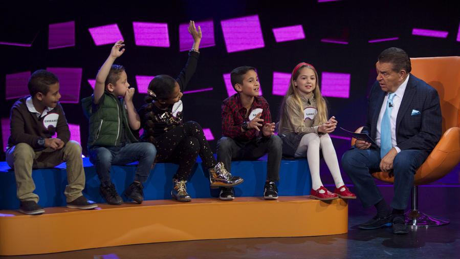 """Participantes de """"Entre Niños"""" hablan con Don Francisco"""