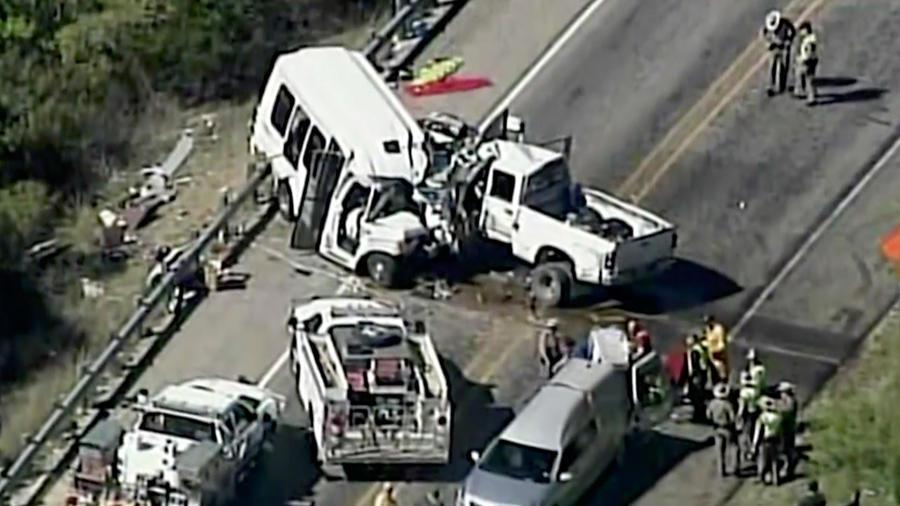 fuerte accidente en texas