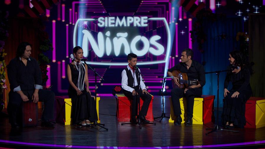 Hermanos cantantes españoles se presentan en Siempre Niños