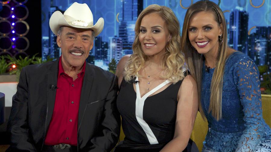 Don Pedro Rivera, Rosie Rivera y Jessica Carrillo en Don Francisco Te Invita