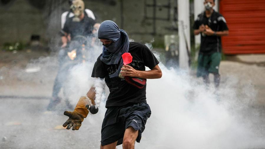 represion en venezuela