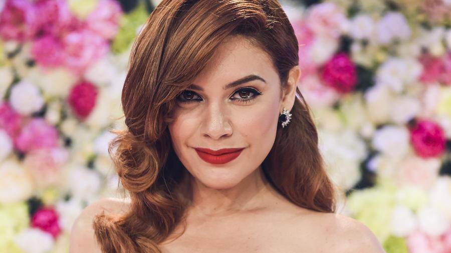 Angelica Celaya - Alfombra Roja Premios Billboard 2017