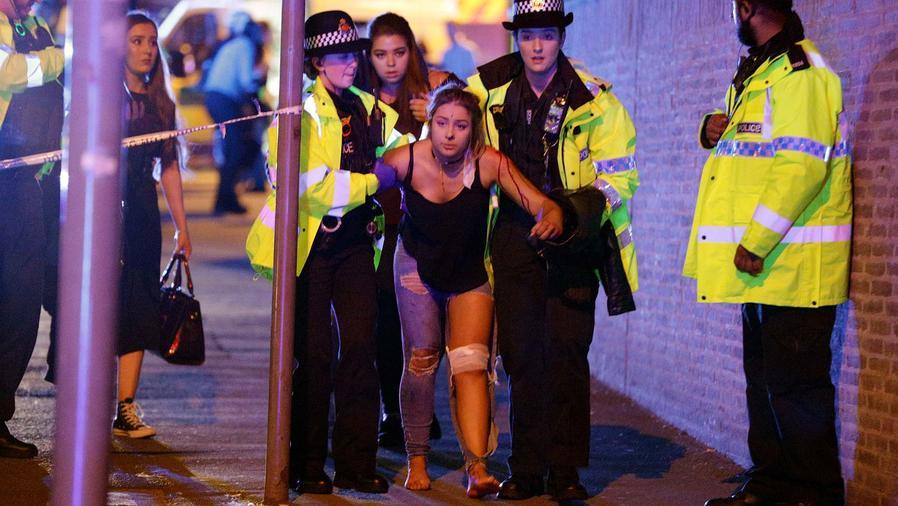Joven herida tras el concierto de Ariana Grande en Manchester