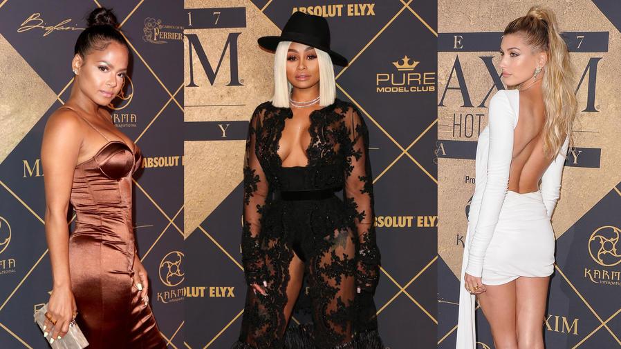 El pasado sábado se llevo a cabo la fiesta Maxim Hot 100, en Hollywood,