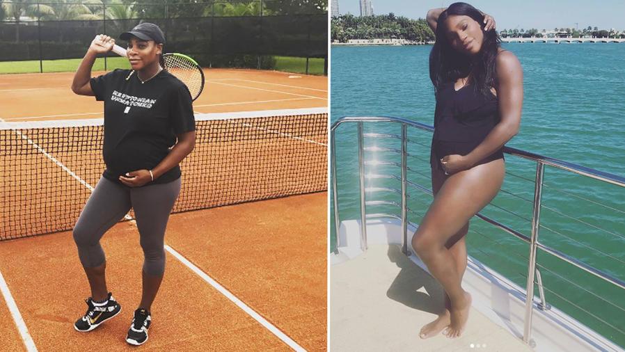 Collage Serena Williams