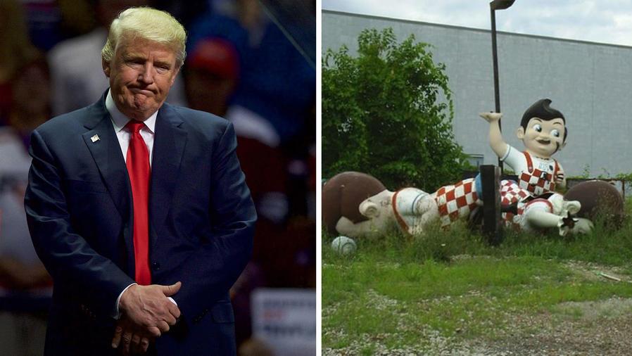 """Los memes de Trump y las """"bellas estatuas confederadas"""""""