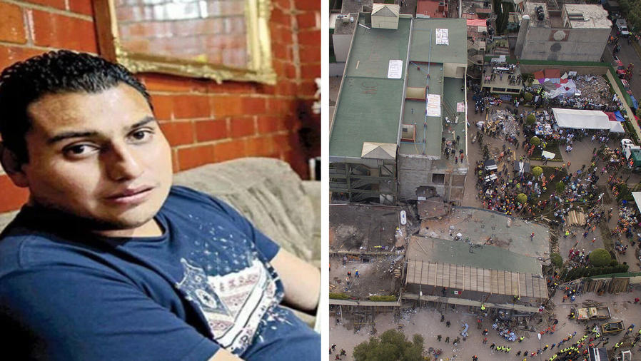 """""""Bebé milagro"""" de 1985 rescató a niños en este sismo"""