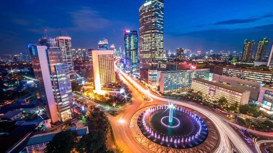 Vista panorámica de Yakarta