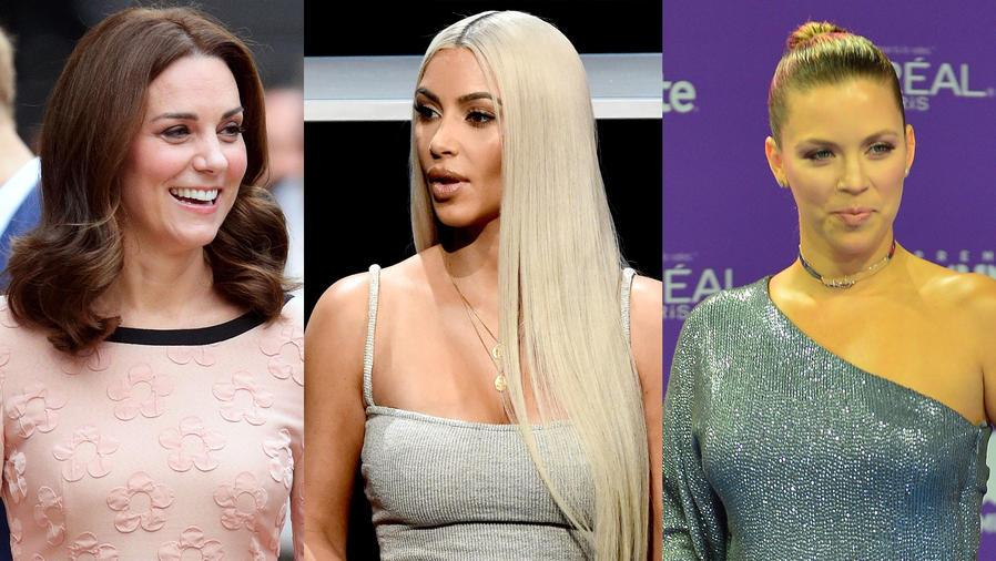 Kate Middleton, Kim Kardashian, Ximena Duque
