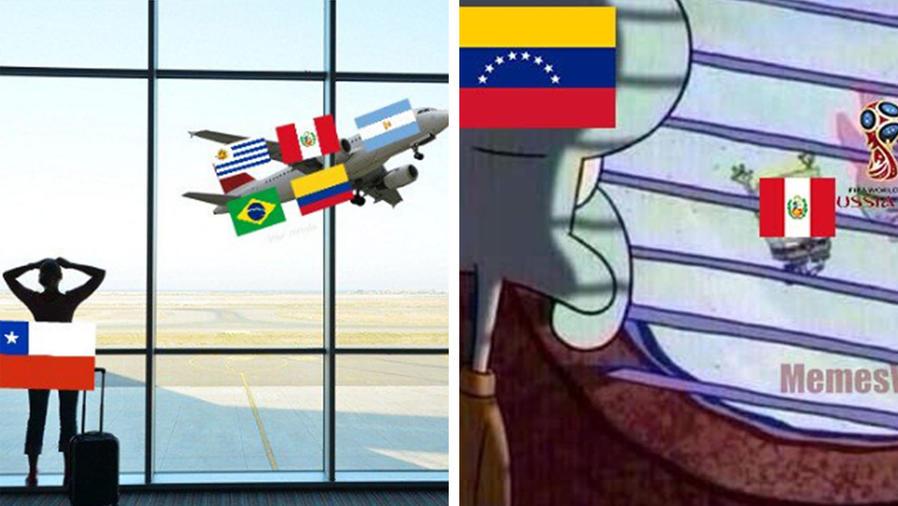 Los memes de Perú en el mundial
