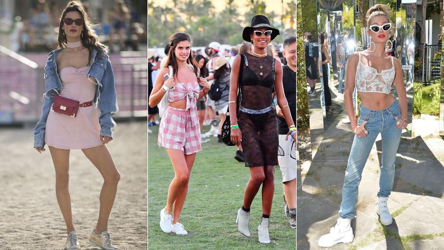 Celebridades en Coachella 2018